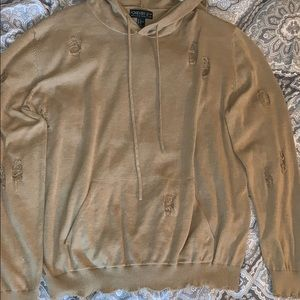 NWT Plus Size 1X Forever 21 Hoodie rip/destroyed
